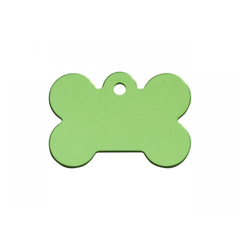 Hundetegn Kødben Lime Grøn Stor