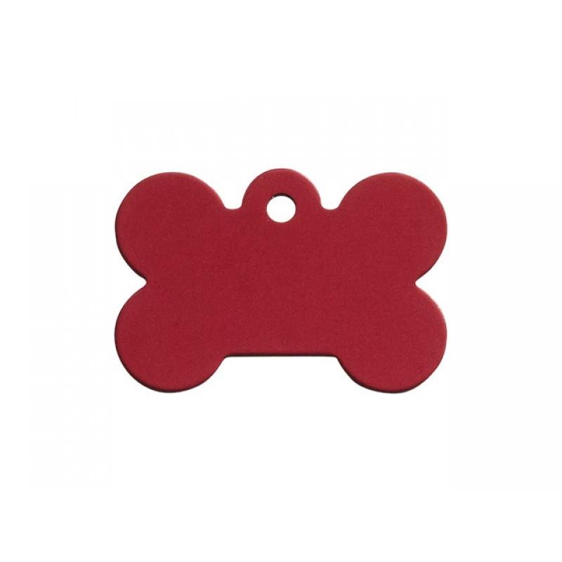 Hundetegn Kødben Rød Lille