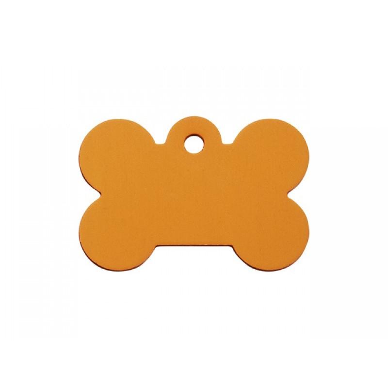 Hundetegn Kødben Orange Lille