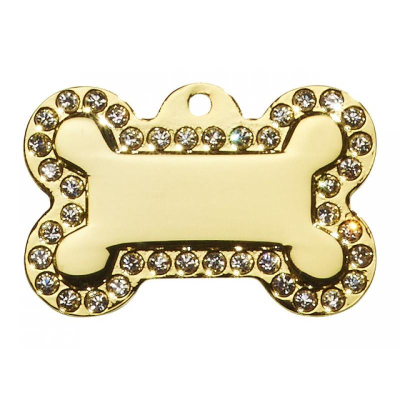 Hundetegn Kødben Glamour Stor