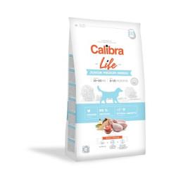Calibra Dog JUNIOR Med. kylling/ris 2,5kg
