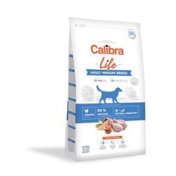 Calibra Dog ADULT MEDIUM kylling/ris 2,5 kg