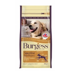 Sensitive Adult Dog Turkey & Rice 2kg