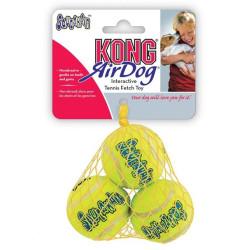 KONG AirDog Squeaker Tennisbolde Small i Net
