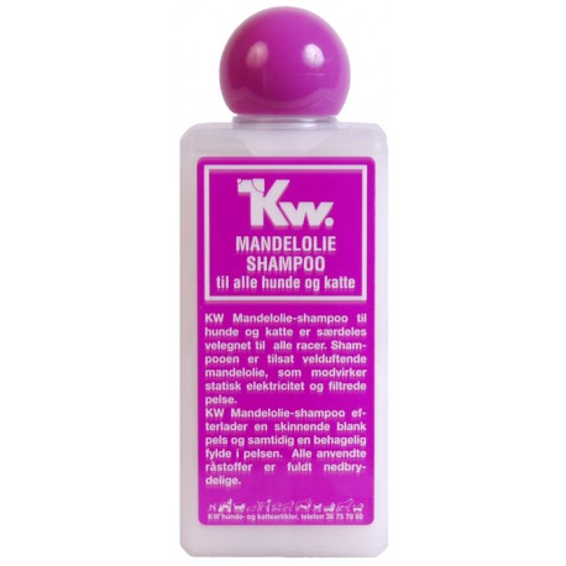 KW Mandelolie Shampoo 200 ml